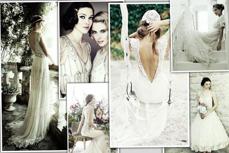 vestidos de novia estilo vintage: vuelve el retro [fotos] - mujeralia