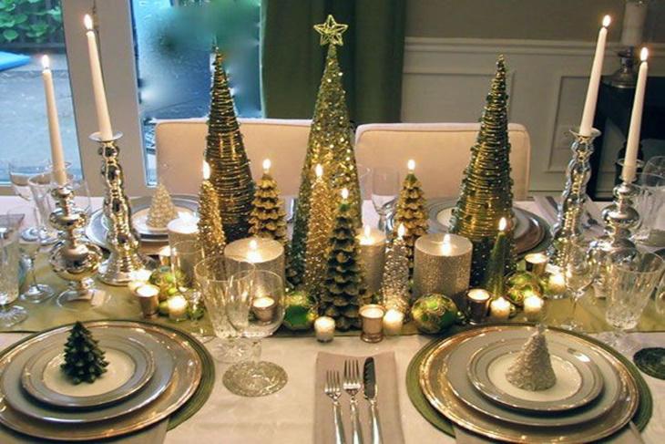 decoracin de la mesa en navidad portada