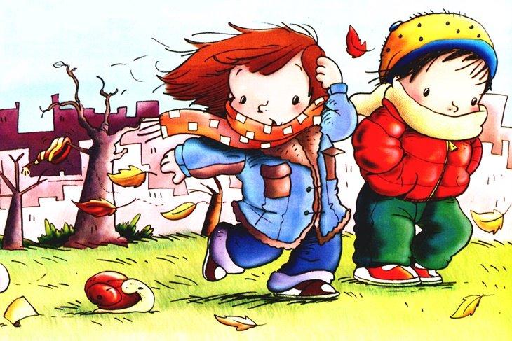 Dibujos Colorear Otono Infantil: Dibujos Para Colorear Del Otoño Para Niños: Los Mejores