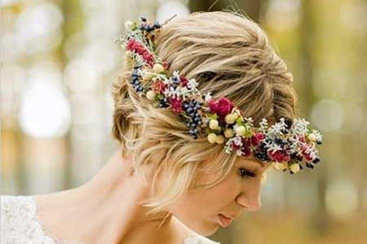 Peinado novia pinterest