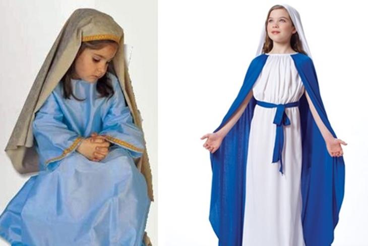 Disfraz de Virgen María paso a paso: Cómo hacerlo de forma sencilla ...