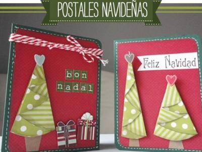 Felicitaciones de Navidad caseras: Ideas DIY
