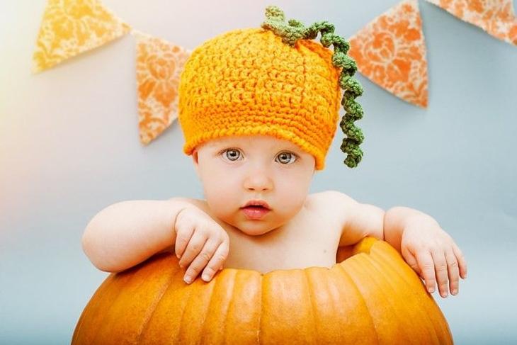 Disfraz de calabaza para bebs casero El paso a paso